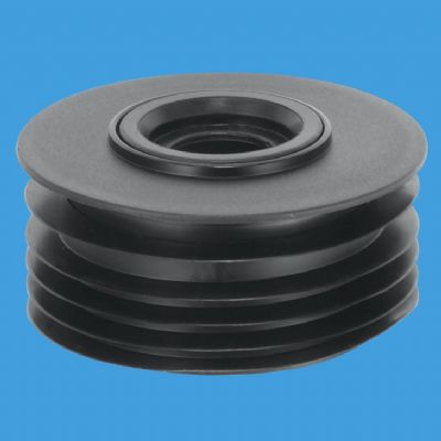 McAlpine Soil Pipe 110mm Internal Adaptor 1.1/4 and 1.1/2